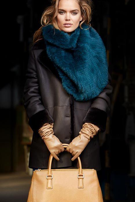 С чем носить дубленку (87 фото): модели средней длины, какую шапку носить, с чем носить черную, рыжую, серую, до колена, с шарфом, образы