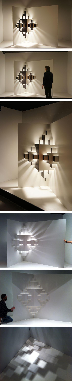 Well Well Designers. Pixel. Window display. light installation – paper Dimensions 2,5 x 3. http://www.wellwelldesigners.com/work/pixel