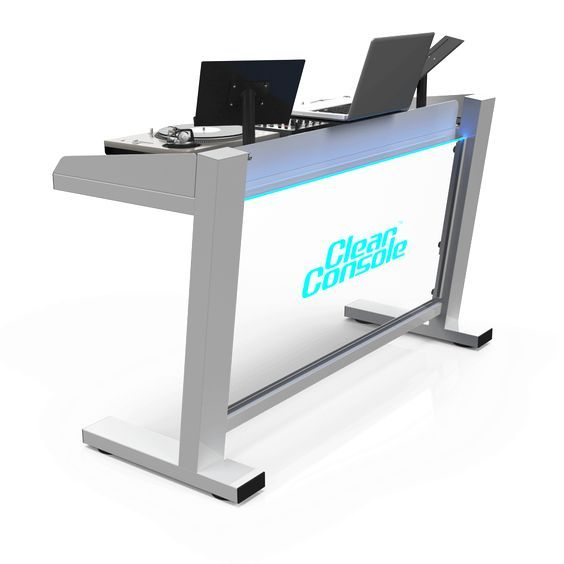 Portable, modular, & custom DJ booths, tables, & stands that break apart and assemble in in minutes. Hand crafted for professional DJ's, venues, and events.