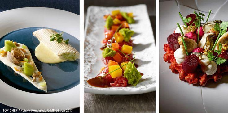 Demi finale Top Chef 2017 : les recettes de Franck, Julien et Jérémie