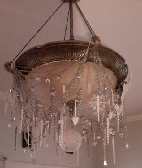 Chandelier  at Christmas