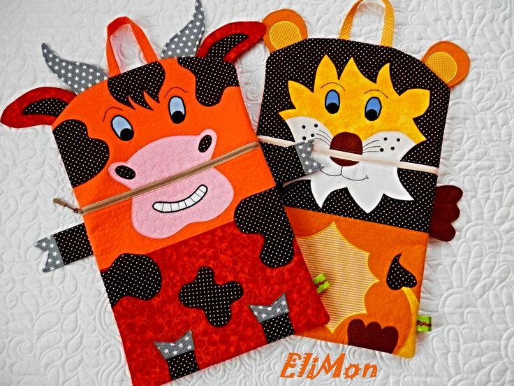 Pajamas bag for Kids...Caw and Lion