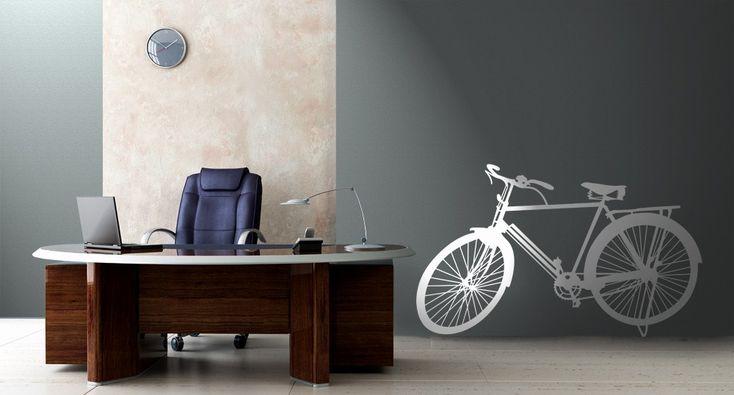 Bicicletta > Collezione Oggetti #wallstickers #mycollection #room #colour #design #home #office #living #stuff #bike