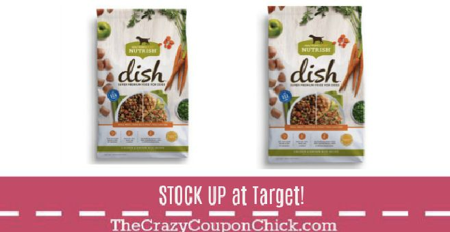 Stock up on Rachael Ray Dish Dog Food with FREE $10 Target Gift Card!! (thru 9/30)