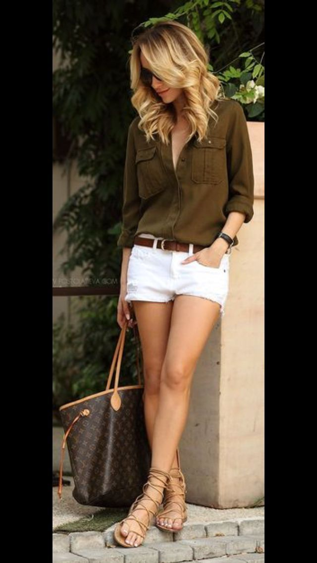 what shoes to wear with white shorts 50+ best outfits #shorts #shoes