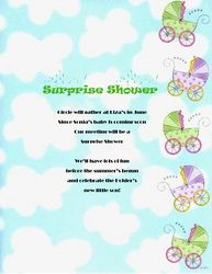 Baby Shower: Surprise Baby Shower Invitations Wording To Help Your Foxy Baby U2026