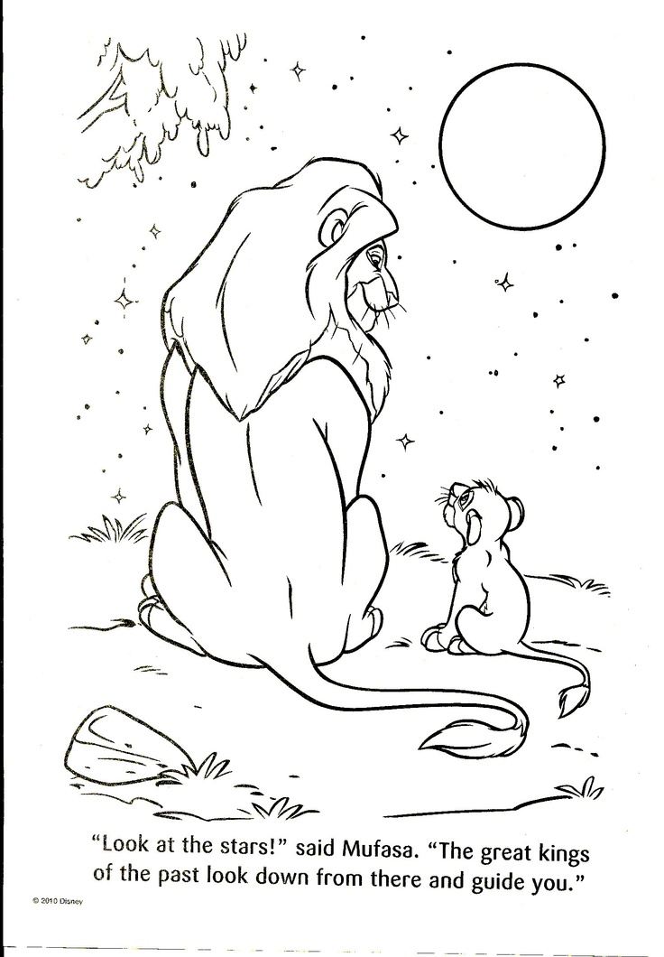 20 best the lion king images on Pinterest Adult coloring
