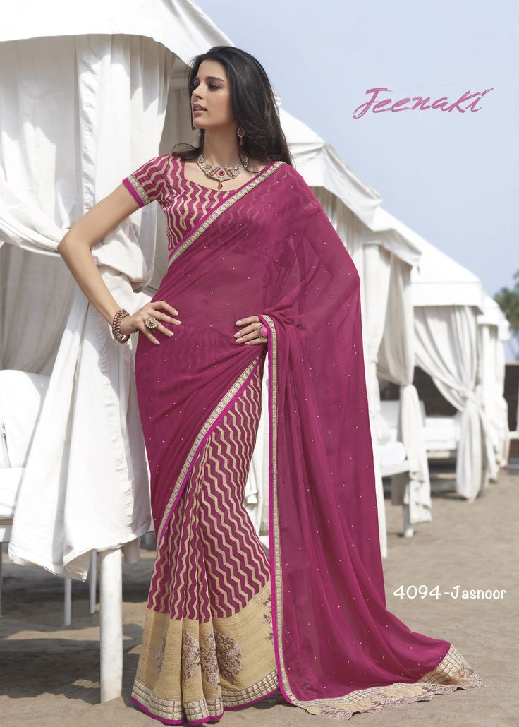 Maroon Chiffon Pattern Party Wear Saree With Raw Silk Blouse at Lalgulal.com ‪#‎Price‬ :- 3,195/- inr. To ‪#‎Order‬ :- http://goo.gl/zPhmCA To Order you Call or ‪#‎Whatsapp‬ us on +91-95121-50402 COD & Free Shipping Available only in India.