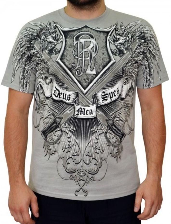 T-shirt patriotyczny 'Husaria - Deus Mea Spes' HD - przód ---> Streetwear shop: odzież uliczna, kibicowska i patriotyczna / Przepnij Pina!