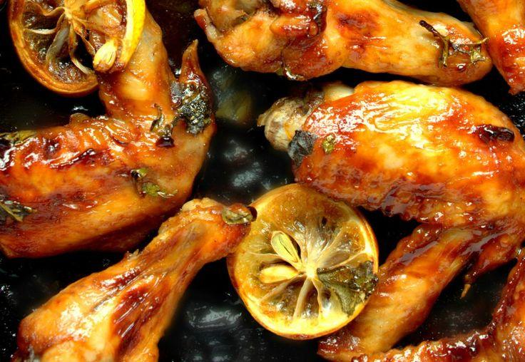 Pui cu sos de miere, lămâie și usturoi | Retete culinare - Romanesti si din Bucataria internationala