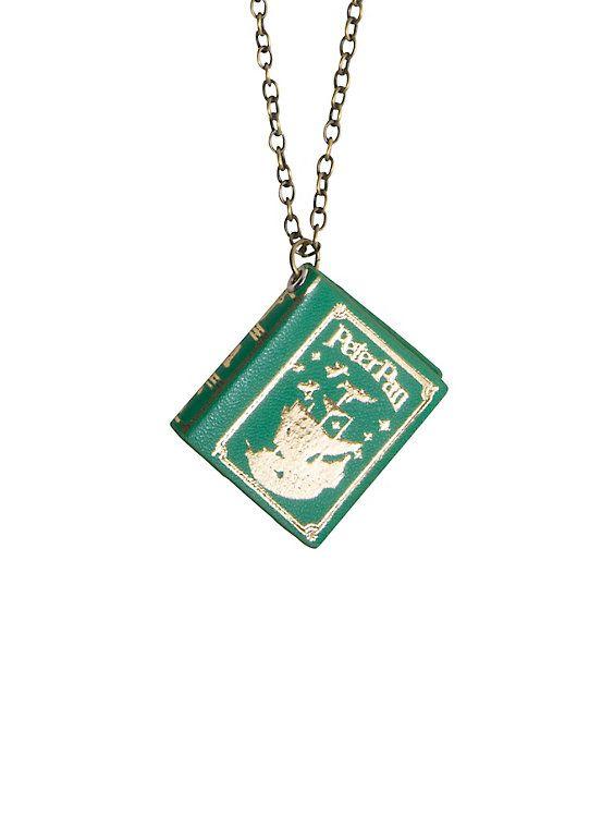 Disney Peter Pan Storybook Charm Necklace,