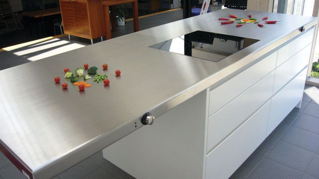 This Custom Made Teppanyaki Kitchen Island From Cook N