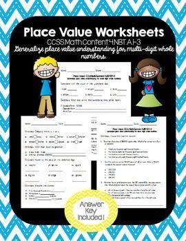 best 25 place value worksheets ideas on pinterest. Black Bedroom Furniture Sets. Home Design Ideas