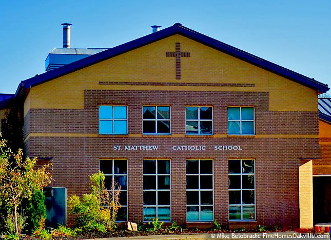 St. Matthew Catholic School, Oakville