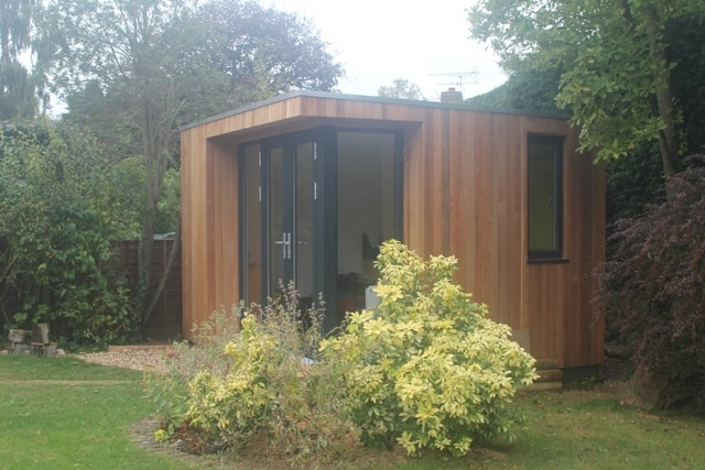 Kontemporary office additional accomodations pinterest for Eco garden office