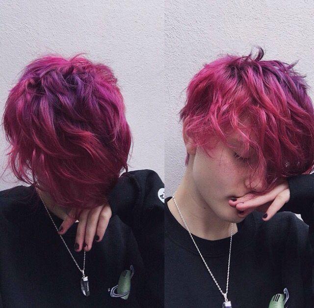mens colored hair