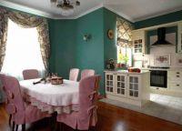 Чехлы для стульев на кухню4