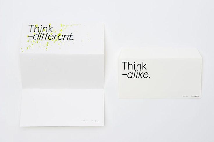"""Alumna: Eva Vesikansa. Proyecto: """"Think"""". Graduado Superior / Diploma en Diseño Gráfico y Digital.  #idepbarcelona #idepgráfico #graphicdesign  http://www.idep.es/graduado-superior-diploma-dg/"""