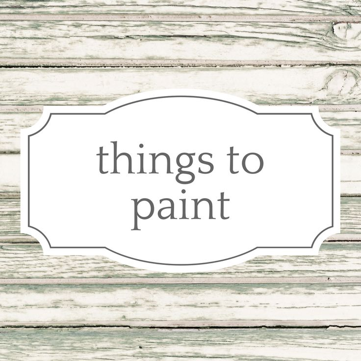 DIY projects to make with paint. crafts, home decor, & seasonal holiday projects to paint. Rehab furniture with paint. Shabby Chic chalk paint looks. You name it - you can do it with paint!