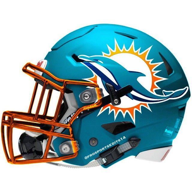 Miami Dolphins Riddell SpeedFlex Concept football  Helmet