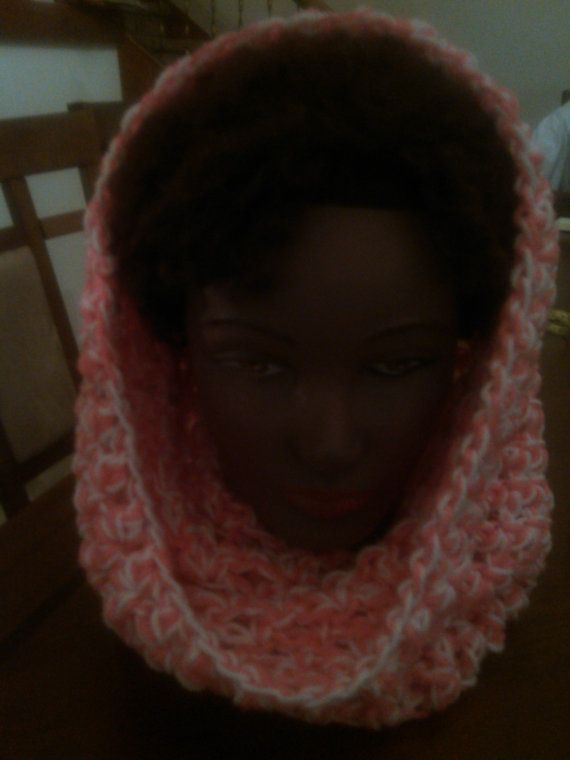 Free Shipping Breast Cancer Awareness Cowl by candicedavis336