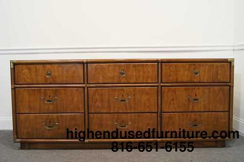 Drexel Heritage Accolade Campaign Style 71 Quot Triple Dresser