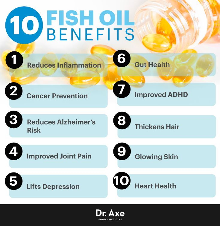10 Omega-3 Fish Oil Benefits and Side Effects - DrAxe.com