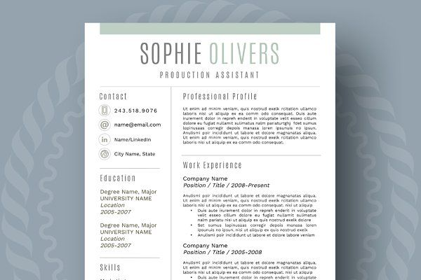 1000+ Ideas About Resume Layout On Pinterest