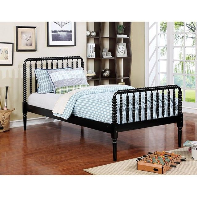 Furniture of America, Jenny Queen Bed CM7741BK For $349