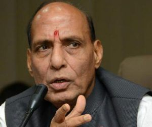 "New Delhi :   Home Minister Rajnath Singh on Monday reached out to various political leaders, including Congress chief Sonia Gandhi, and discussed the situation prevailing in Jammu and Kashmir after Hizb militant Burhan Wani's killing. ""The home minister spoke to Congress President Sonia Gandhi, former Jammu and Kashmir Chief Minister Omar Abdullah and many others on the issue. It was like re..  Read More"