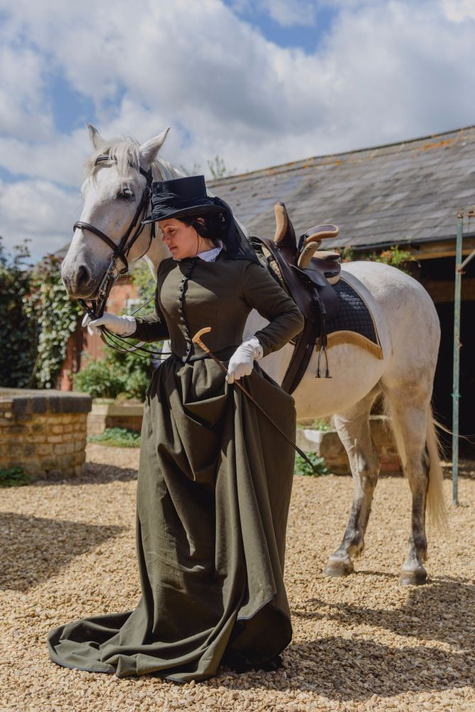 Victorian Riding Habits Bespoke And Stock Items