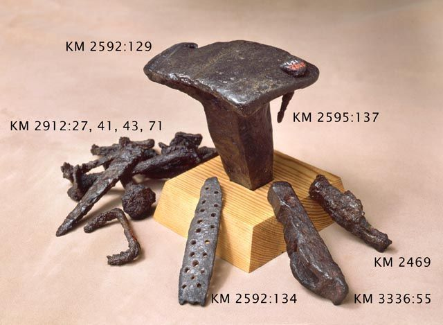 Viking age / Blacksmith tools/ Finland