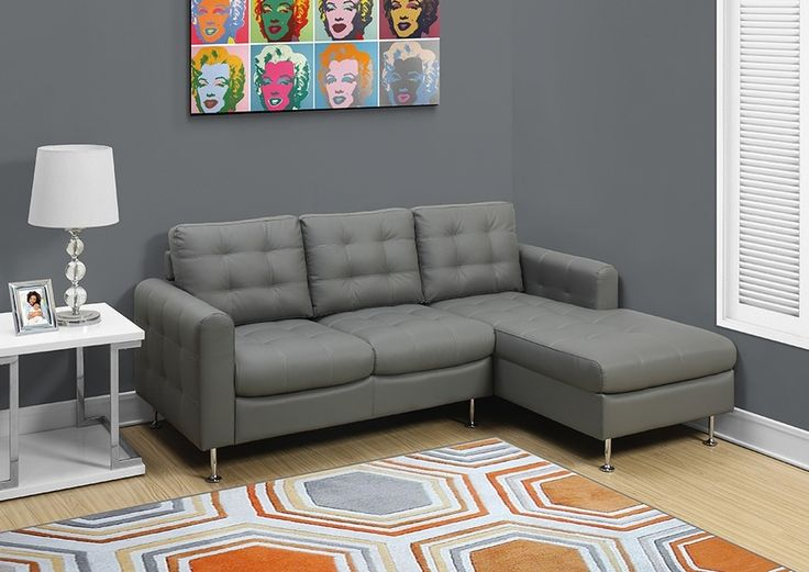 Sofa sectionnel cuir - SC502 Leather sectional sofa - SC502