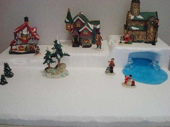 17 best Christmas Village Display Platforms images on Pinterest ...