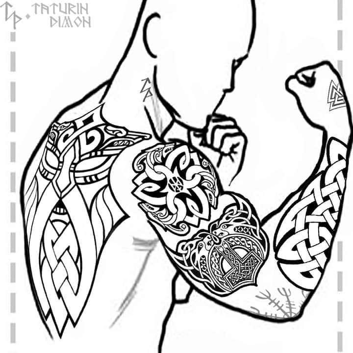 Wikinger Tattoo Bedeutng Entdecken Sie Die 12 10