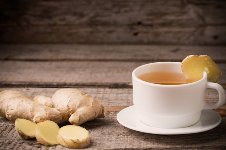 Plenty of people use ginger tea to treat an infected throat. That is because ginger is both anti-inflammatory and anti-microbial. Crush a small cube of ginger into a cup of boiling water and let steep until the beverage is comfortable to drink. Drink it up and one's problems will be gone.
