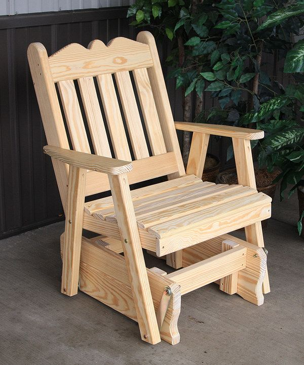 13 Best Gliding Rocker Plans Images On Pinterest Chairs