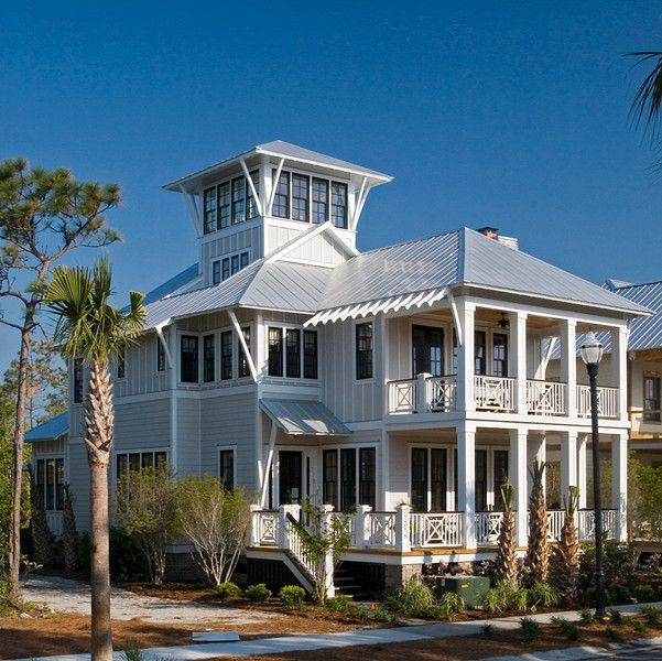 The Finley Plan By Allison Ramsey Architects Built At Seagrove In Carolina  Beach, North Carolina.