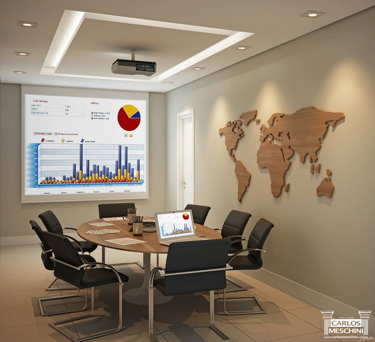 Sala de reuniões - Inside Santos