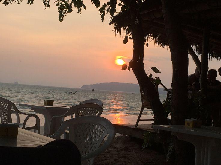Mum Aroy Beach Side @ Ao Nang, Krabi, Thailand.