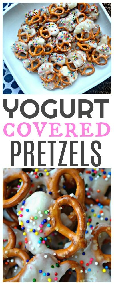 Yogurt Covered Pretzels and Collecting Box Tops for Education