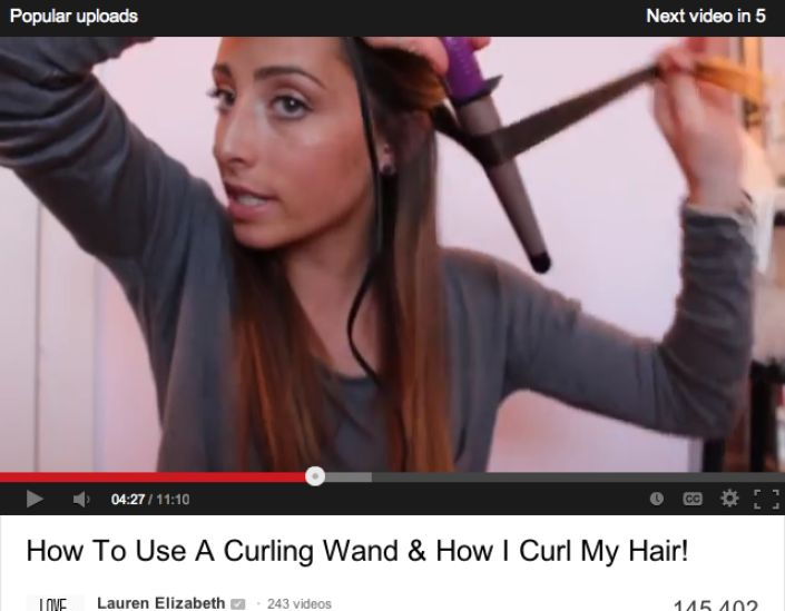 how to use curling iron without clamp