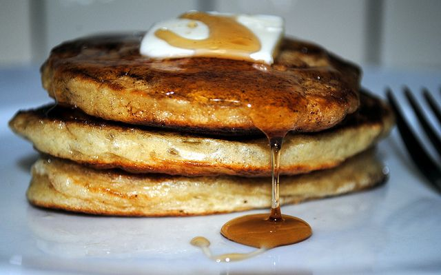 greek yogurt pancakes. not nearly as easy as bisquick, but look tasty.