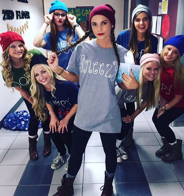 cool halloween outfits costume ideas 7 dwarves more - Awesome College Halloween Costumes