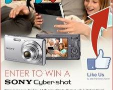 Win a Sony Cybershot!