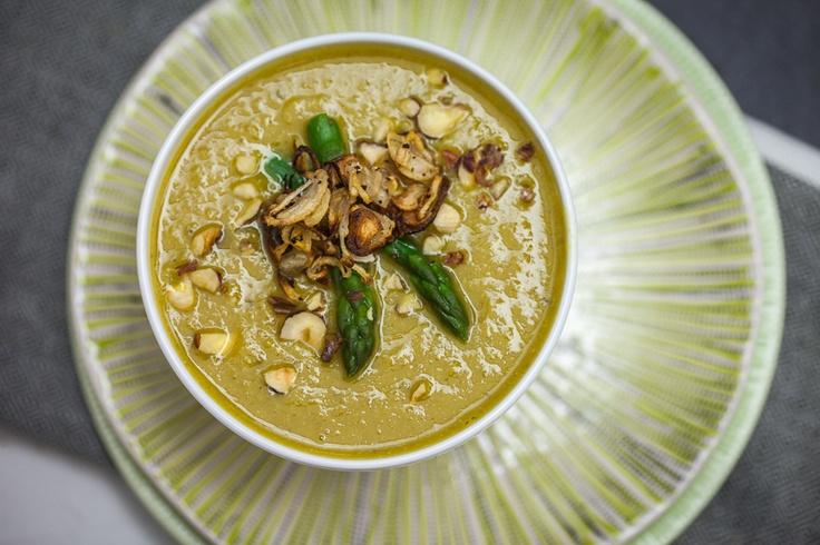 Cauliflower Soup With Crispy Shallots Recipes — Dishmaps