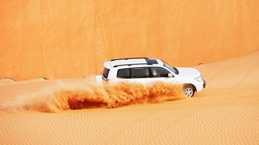 Ørkeneventyr i Abu Dhabi - Off Road opplevelser i Ørkenen http://travels.kilroy.no/destinasjoner/midtosten/forente-arabiske-emirater/abu-dhabi
