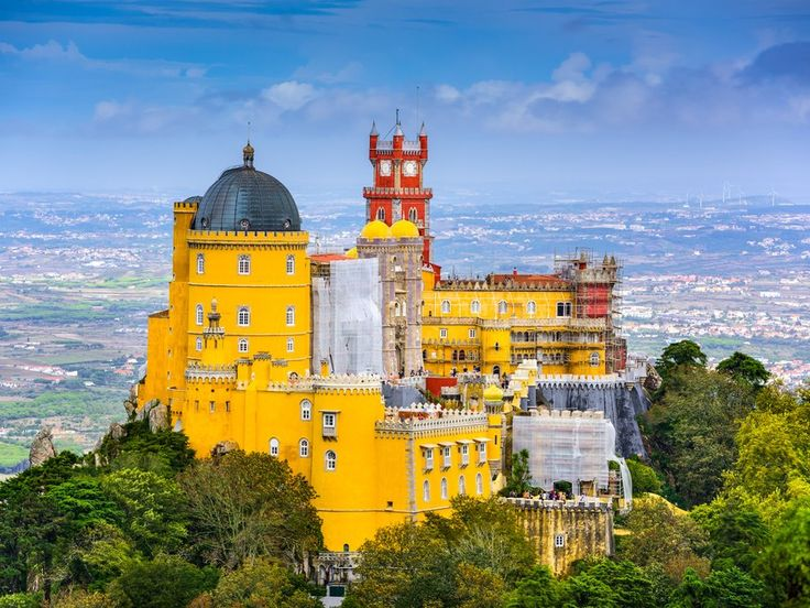 In 1809, the British poet Lord Byron said mountaintop Sintra was, perhaps, the most beautiful town in the world. It has proposal-worthy views from every angle, and so many nineteenth-century Romantic monuments it's been designated a UNESCO World Heritage site. King Ferdinand II's Pena Palace is hard to miss, but don't overlook the gardens with their 500 species of trees—perfect for a romantic afternoon stroll.
