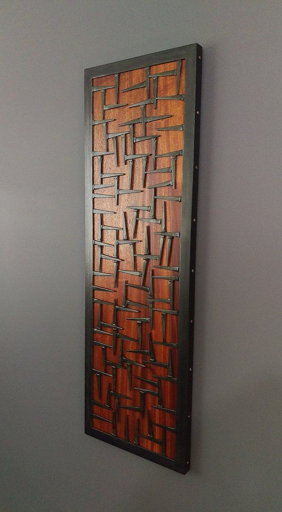 Wood Wall Art Wood And Metal Wall Art Sculpture Welded Etsy In 2020 Metal Sculpture Wall Art Wall Sculpture Art Steel Art