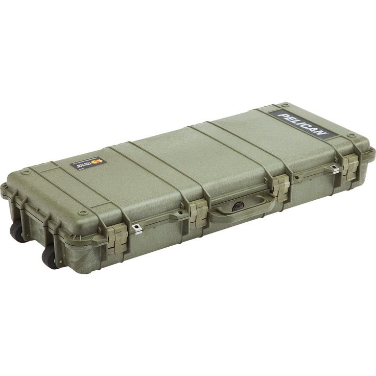 Pelican 1700 Rifle Case with Foam (Long Case, Multi-Purpose) - OD Green